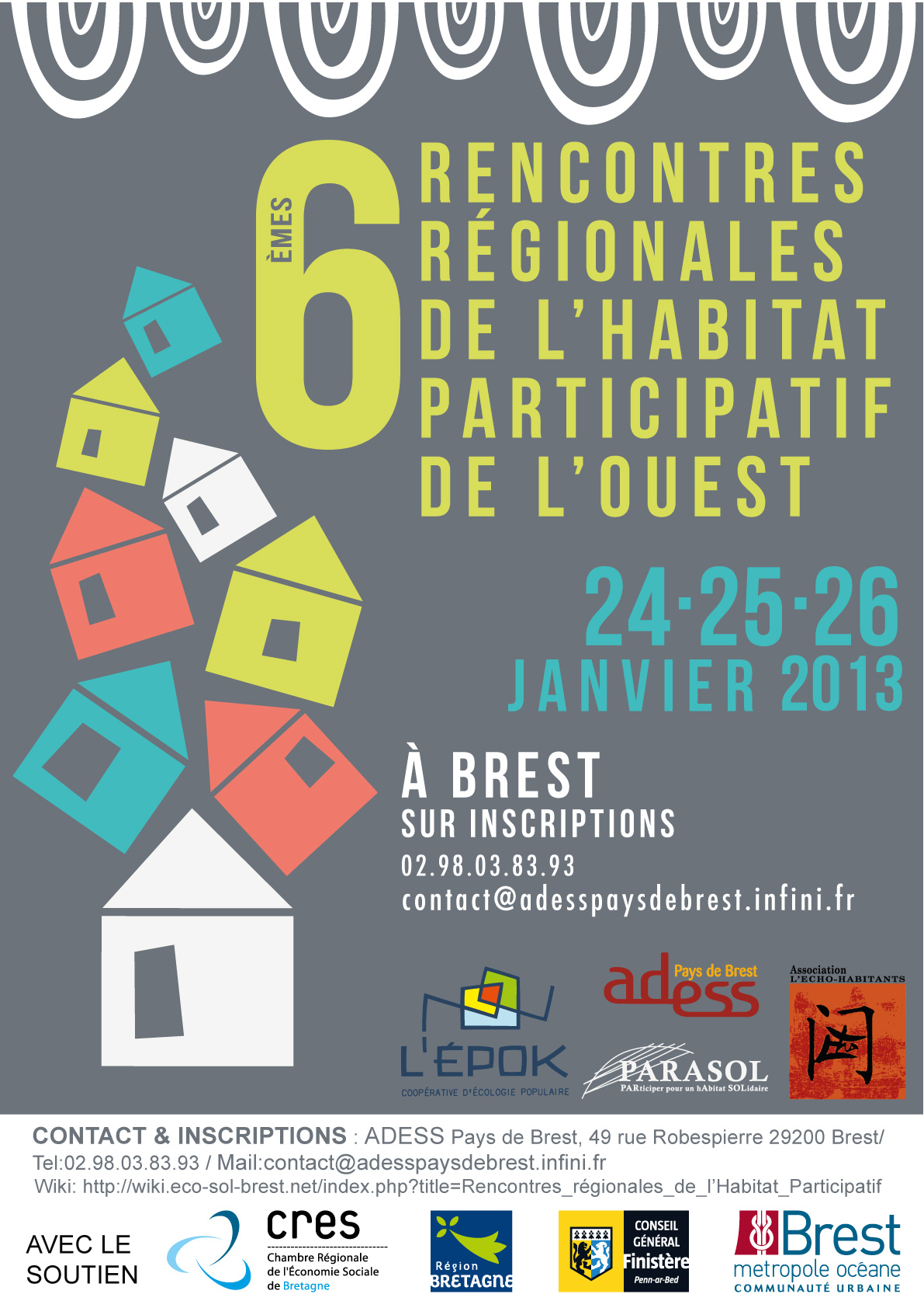 Rencontre nationale de l'habitat participatif 2018