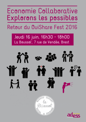 [16 juin 16h30-18h00] Economie Collaborative // Explorons les possibles