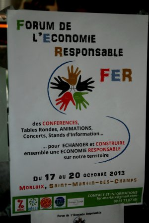 Les photos du Forum de l'Economie Responsable !